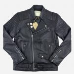 perfecto cuir, perfecto marty and gus, perfecto col motard, blouson cuir agneau